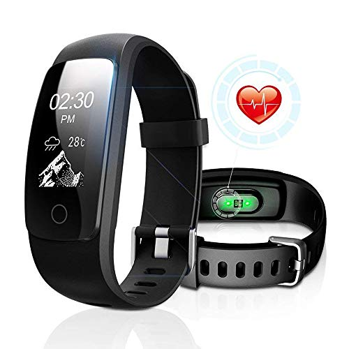 DBFIT Fitness Tracker Cardio IP67, Braccialetto Fitness Impermeabile Orologio Cardiofrequenzimetro Fitness Activity Tracker
