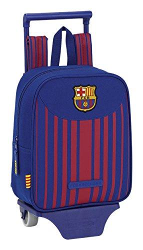 Kindergartenrucksack F.C. Barcelona 17/18 - Offiziell - mit Trolley Safta Preisvergleich