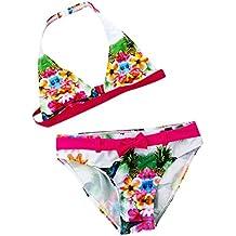 Abbigliamento sportivo Bambine e ragazze Snowbuff Bikini a Spacco con Stampa Floreale Costume da Bagno per Bambini,Costumi da Bagno per Bambina,Neonato Bambini Ragazze Bambino Cinghie Costume da Bagno Bikini Set Abiti