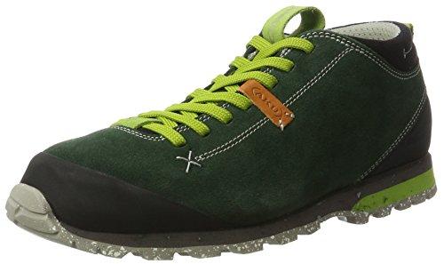 AKU Bellamont Suede, Chaussures de Randonnée Basses mixte adulte Grün (Green)