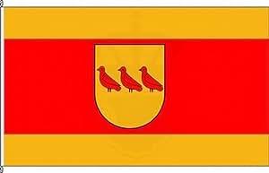 Königsbanner Hochformatflagge Velen-Ort - 80 x 200cm - Flagge und Fahne