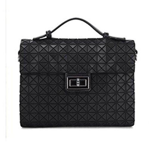 Neue Art Und Weisefrauen PU-lederner Handtaschen-Beutel-Schulter-Beutel-Einkaufstasche Black