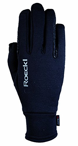 Roeckl Sports Winter Handschuh -Weldon- Unisex Reithandschuh, Schwarz, 8