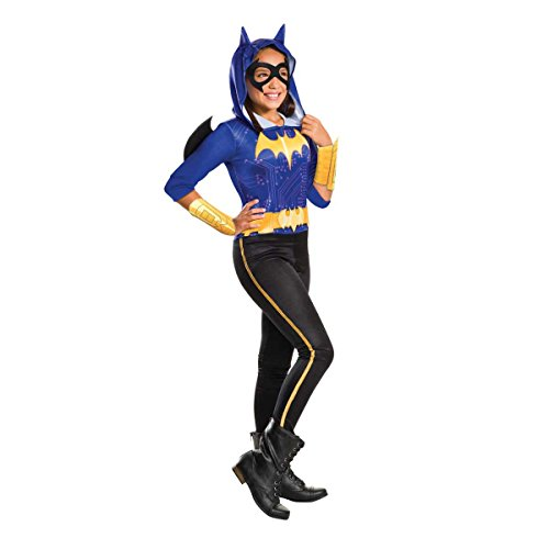 Rubie's Offizielle Batgirl Mädchen Kostüm DC Comic Book Day Week Superhero Kinderkostüm , 8-10 Jahre