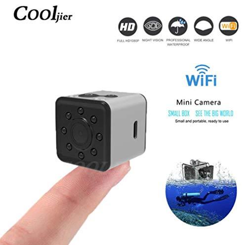 SHHENGSHIYUJIA WiFi Mini Kamera kleine cam HD 1080P Video Sensor DVR Camcorder Tauchen DV-Maschine Nachtsicht Sport Kamera DV Wasserdichte Kamera