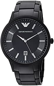 Emporio Armani Men's Quartz Watch, Analog Display and Stainless Steel Strap AR1