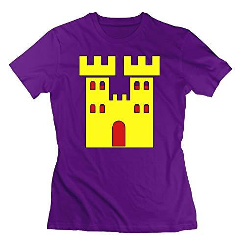 A Royal Castle Home Womens Tshirts - Royal Castle Violett