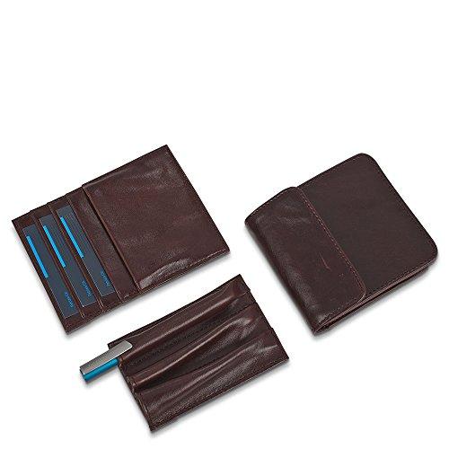 Piquadro  Cartella Blue Square,  Herren Kofferorganizer Schwarz schwarz M Blau