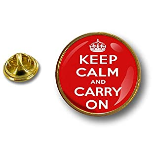 Akacha pins pin's Flag Badge Metal Lapel hat Button Keep Calm and Carry on Biker