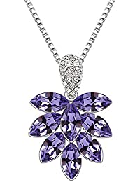 a2b755aa8fdf SHATANQ Colgante de Cristal Ice Ling Flower Fashion Colgante de Cristal  Joyas Europeas Y Americanas