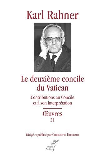 Le deuxième concile du Vatican par Karl Rahner