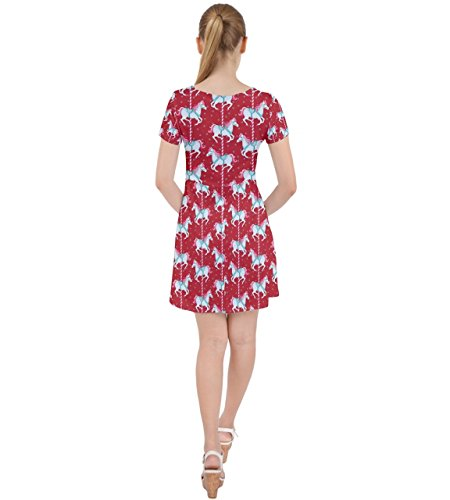 CowCow - Robe - Femme Rose Rose Red 2