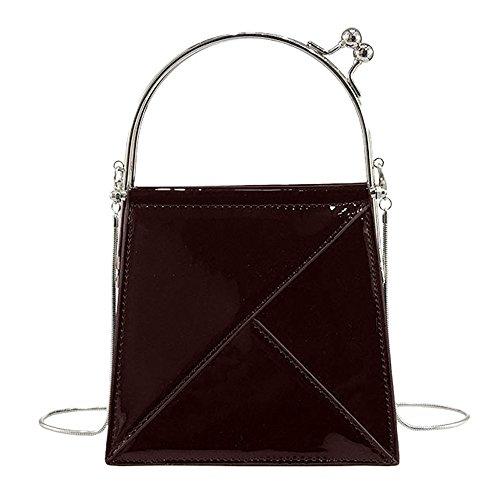 Frauen Mädchen Mode Flap Bag VENMO Thread Umhängetaschen Damen Hübsche Schultertasche neue Welle Paket Kuriertasche Damen weiblichen Beutel Handtaschen für Frauen Handtasche (Wine) (Flap-kabel)