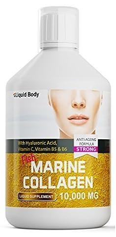Liquid Body Premium Collagène Marin (500ml) Haut Dose 10 000