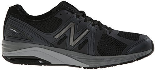 New Balance Men's M1540V2 Optimum Control Running Shoe, Black, 10 6E US Black