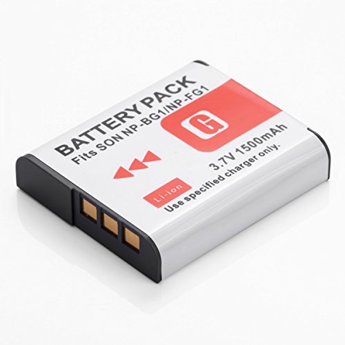 Galleria fotografica Rusty Bob - Sony NP-BG1-FG1 NP-DSC-H3, H7, H9, H10, H20-H50-H55-H70, H90, HX5V, HX7V, HX9V, HX10, HX10V, W215, W220, W230, W270, W275, WX1 - solo batteria