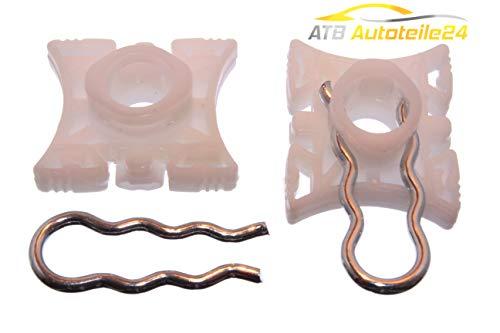 ATB24 Fensterheber Reparatursatz Gleitbacke Clip E32 E34 E92 E36 Z3 Z4 vorne Links & RECHTS