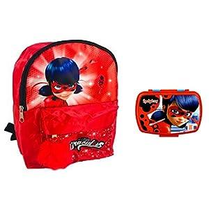 41Ylhq2CmEL. SS300  - Prodigiosa ladybug mochila + snack box