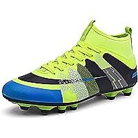 Sneakers per Unisex Scarpe da Calcio Sportive Professionali Stringate Traspiranti e Antiscivolo