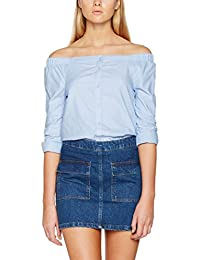 ONLY Damen Bluse Onldrew 7/8 Offshoulder Shirt Noos Wvn