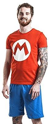 Nintendo Super Mario - M Pyjama rouge/bleu