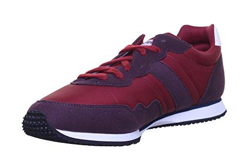 Le Coq Sportif Milos Classic - Zapatillas para hombre Rojo granate