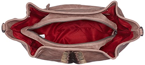 Fritzi aus Preußen Damen Calina Business Tasche, 14x31x40 cm Beige (Rosewood)