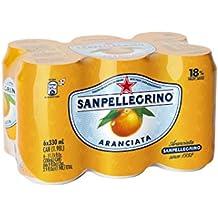 SANPELLEGRINO Aranciata canette 6 x 33 cl