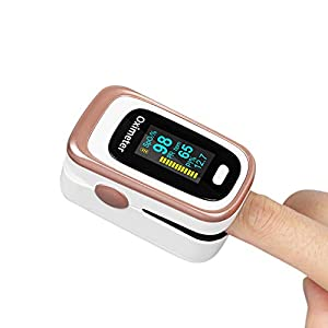 41Ylm5IQTLL. SS300  - Fingertip Pulse Oximeter, SpO2 and Sleep Monitoring for Daily Health, Perfusion Index and Heart Rate Measuring for Household