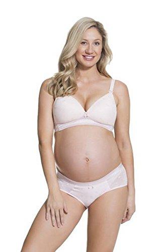 Cake Lingerie Rose Mousse - Soutien-gorge spécial maternité - Sans armature - Femme Rose (Pink)