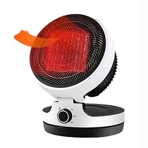 ROLL Mini Calentador eléctrico portátil, 3 Modo de Ajuste de los hogares Calentador Plegable, 3000W...