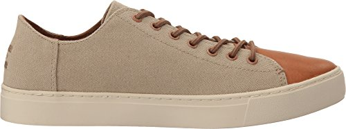 Lenox Schuh taupe wash canv/lthr toe taupe-wash