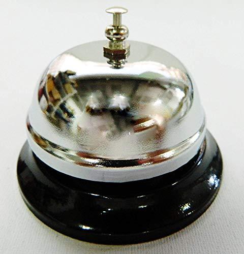 sans Petite Sonnette Cloche d'appel 6cm pour Malade Table Cloche Bureau Clochette d'appel d'hôtel