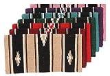 Tough 1 Robust 1Wolle Sierra Miniatur Sattel Decke, 35-7845-332-0, rot/schwarz