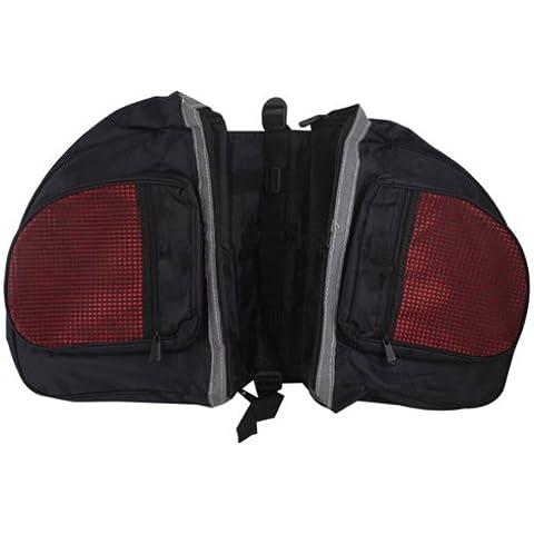 Della bicicletta del sacchetto impermeabile Bag Big sedile posteriore della coda Pannier - Biciclette Pannier