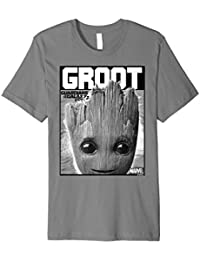 Marvel Guardians Vol. 2 Baby Groot Close-Up T-Shirt C2