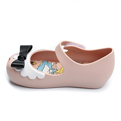 Melissa Shoes Mini Alice Ultragirl Nude Bow