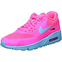 super popular 26123 27116 Nike Mädchen Air Max 90 Br Gs Fitnessschuhe gelb Eu