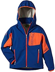 8848 Altitude Jacke Osmium Junior Softshell - Chaqueta de esquí para niño, color azul, talla 150