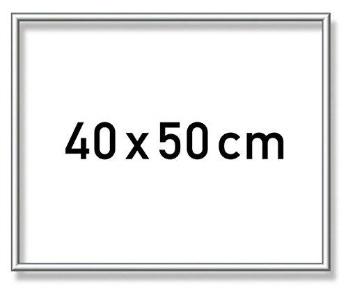 Schipper 605230770 605230770-Malen nach Zahlen-Alurahmen, 40 x 50 cm, Silber