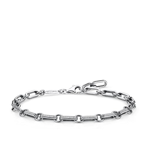 Thomas Sabo Damen Herren-Armband Rebel at heart 925 Sterling Silber Länge 20 cm A1791-637-21-L20v