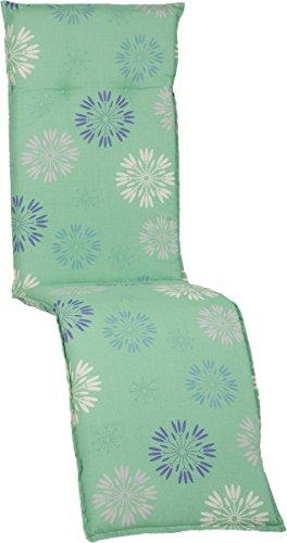 Beo Gartenmöbel Auflage für Relaxstühle in Pusteblumen Mint grün