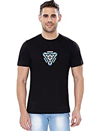 The Souled Store Marvel Infinity War: Arc Reactor Palladium (Glow In The Dark) Superhero Cotton T-Shirt For Mens...