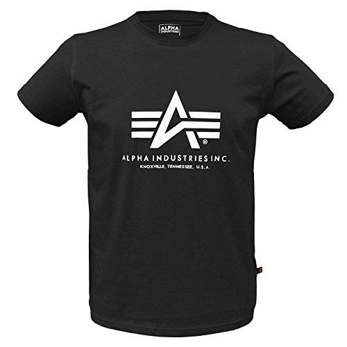 Alpha Ind. Basic T-Shirt Schwarz - XXL