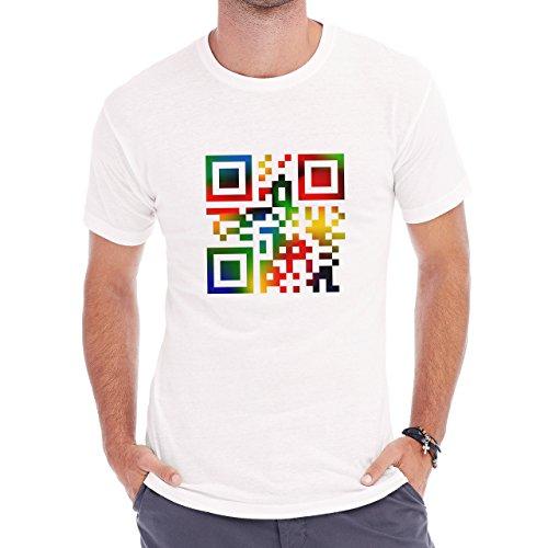 QR Love Herren T-Shirt Weiß
