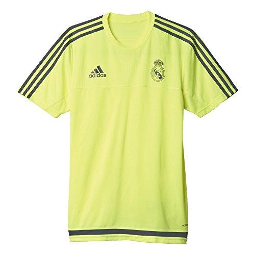 Adidas Real Trg Jsy Real Madrid CF Maglia da Uomo Giallo