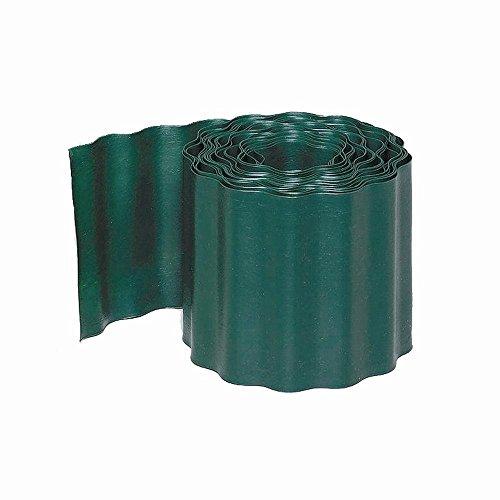 Rasenkanten grün 20cm/9m 20 cm hoch 9 Meter lang grün