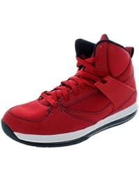 best service a2949 41665 Nike Men s Jordan Flight 45 HIGH MAX Basketball Shoes 11 (Gym RED Obsidian