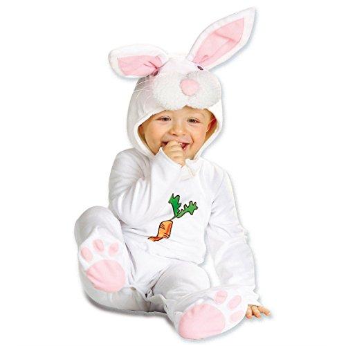 Baby Hasenkostüm Hase Kostüm Overall Häschen Babykostüm Plüsch Strampler Hasen Tierkostüm Fasching Kaninchen Karnevalskostüm Faschingskostüm Tier Mottoparty Verkleidung Karneval Kostüme für Kinder (Kaninchen Kostüm Für Kinder)