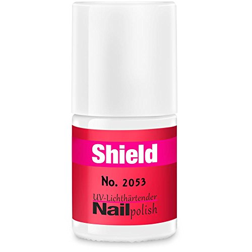Gel-Lack - Shield Lack - LED & UV-Nagellack Neon-Pink 2053 (Uv-lampe Uvp)